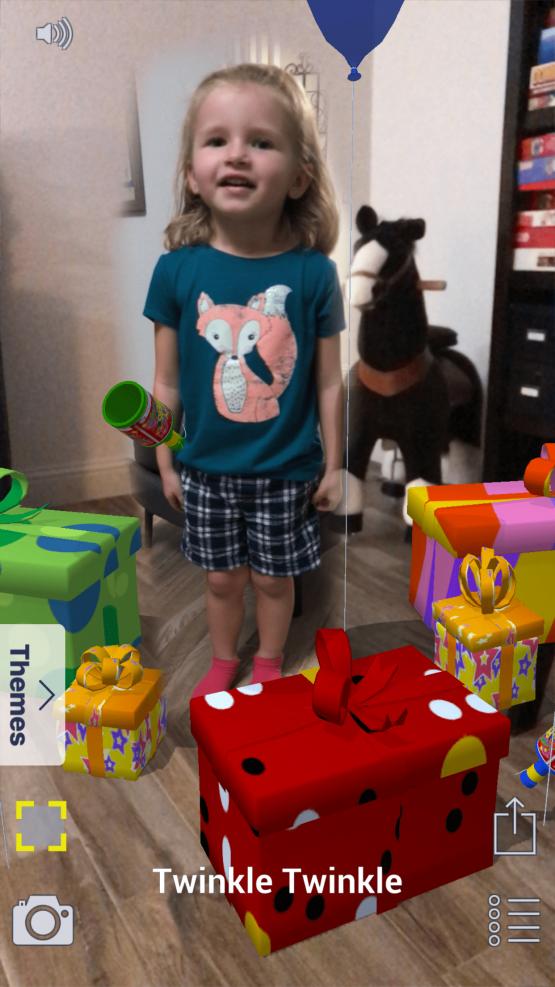 SnapAR v2  Play  Birthday